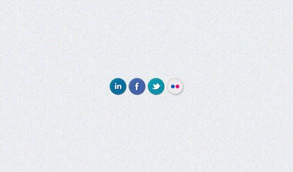 handstitchedsocialmediaiconspsd Social media icons