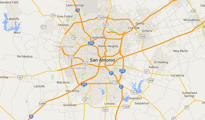 San Antonio, TX Neighborhood Map Best & Worst