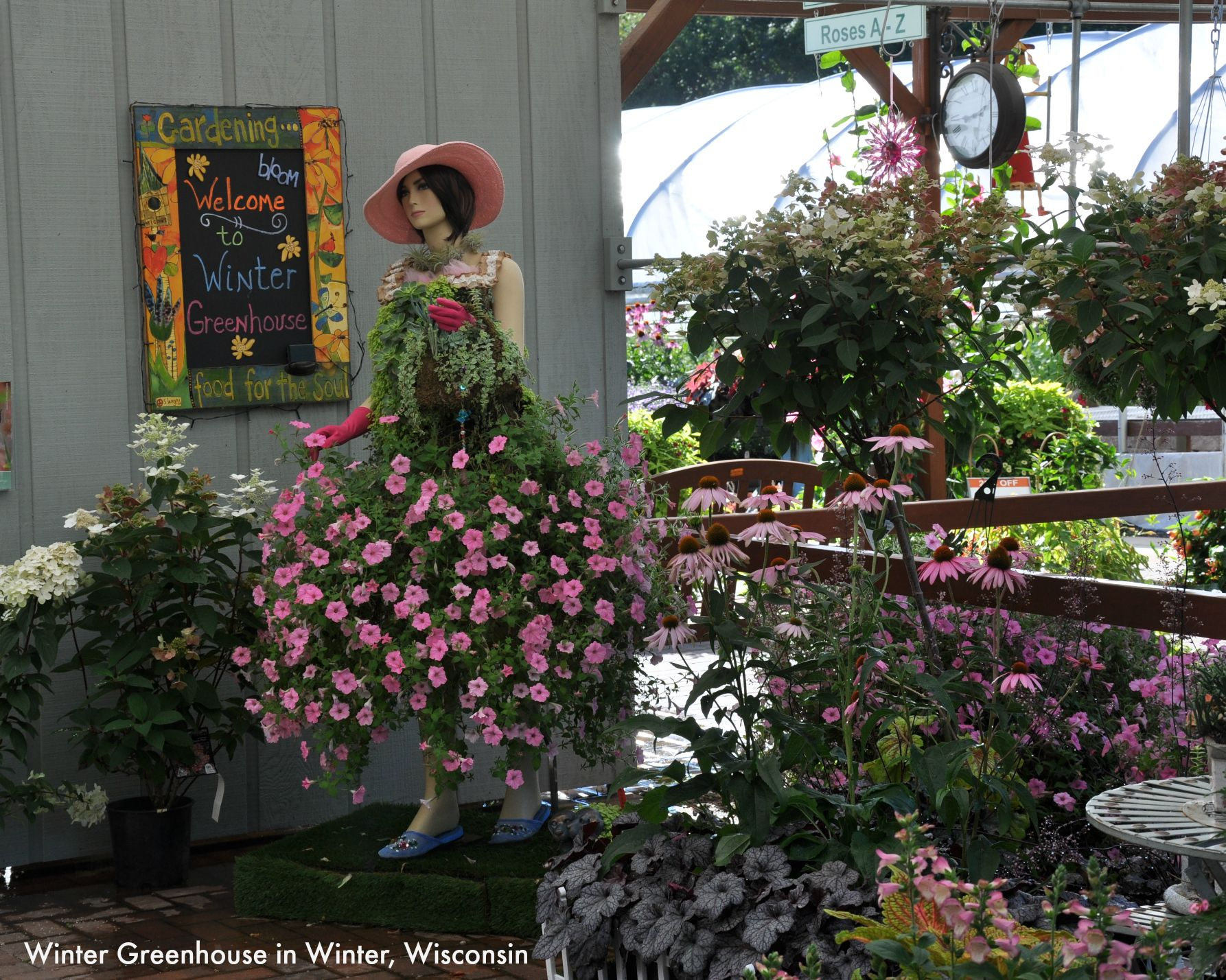 Winter Greenhouse is a popular garden center and nursery