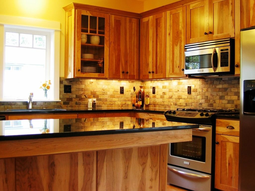 Kitchen Backsplash Ideas Black Granite Countertops Cabin Shed Rustic