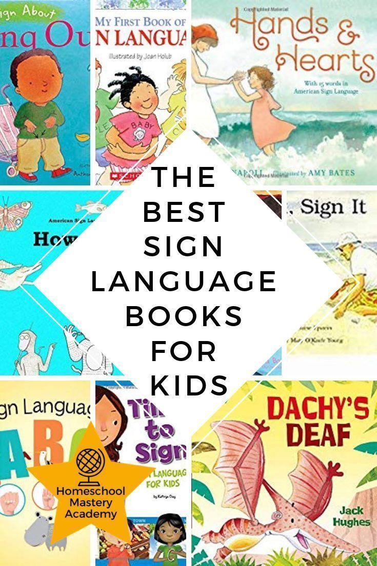 children's book in sign language