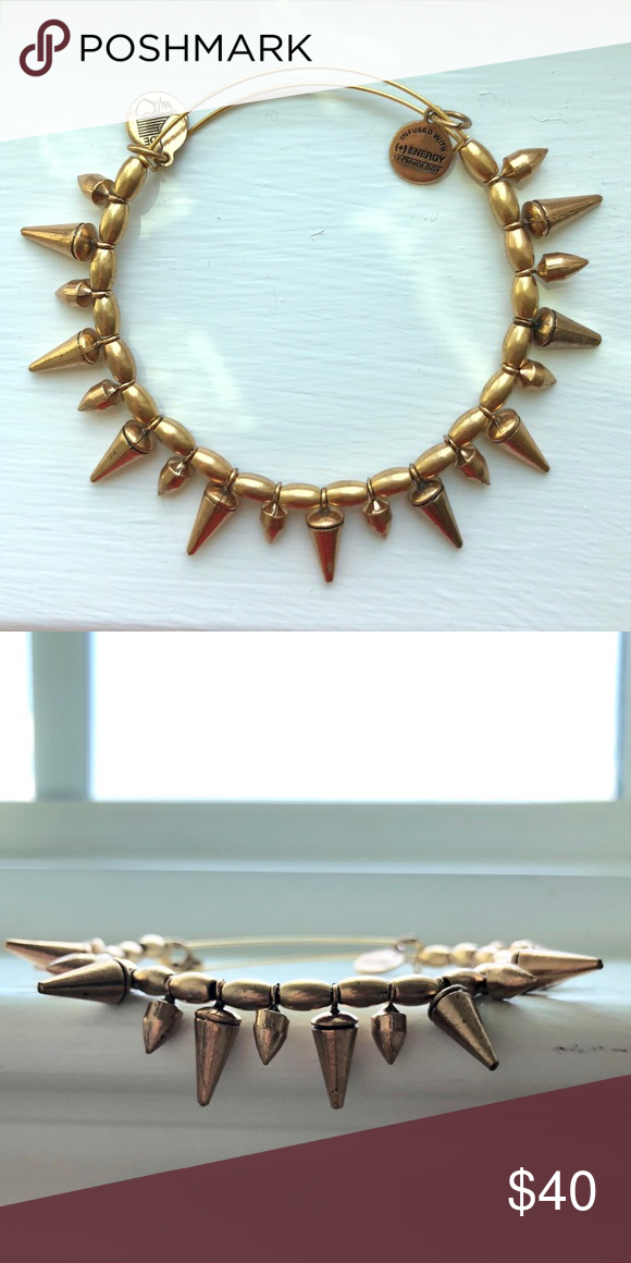 Alex And Ani Spiked Bracelet Lex Gold Spike Jewelry Bracelets