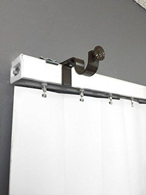 Nono Bracket Curtain Rod Bracket Attachment For Outside Mount