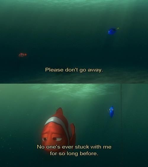 Finding Nemo Movie Moment Quote Best Film Good Words Lines Part Remeber That Find Nemo Citater