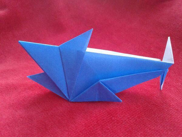 Make an origami shark http://papersharks.org/?page_id=307