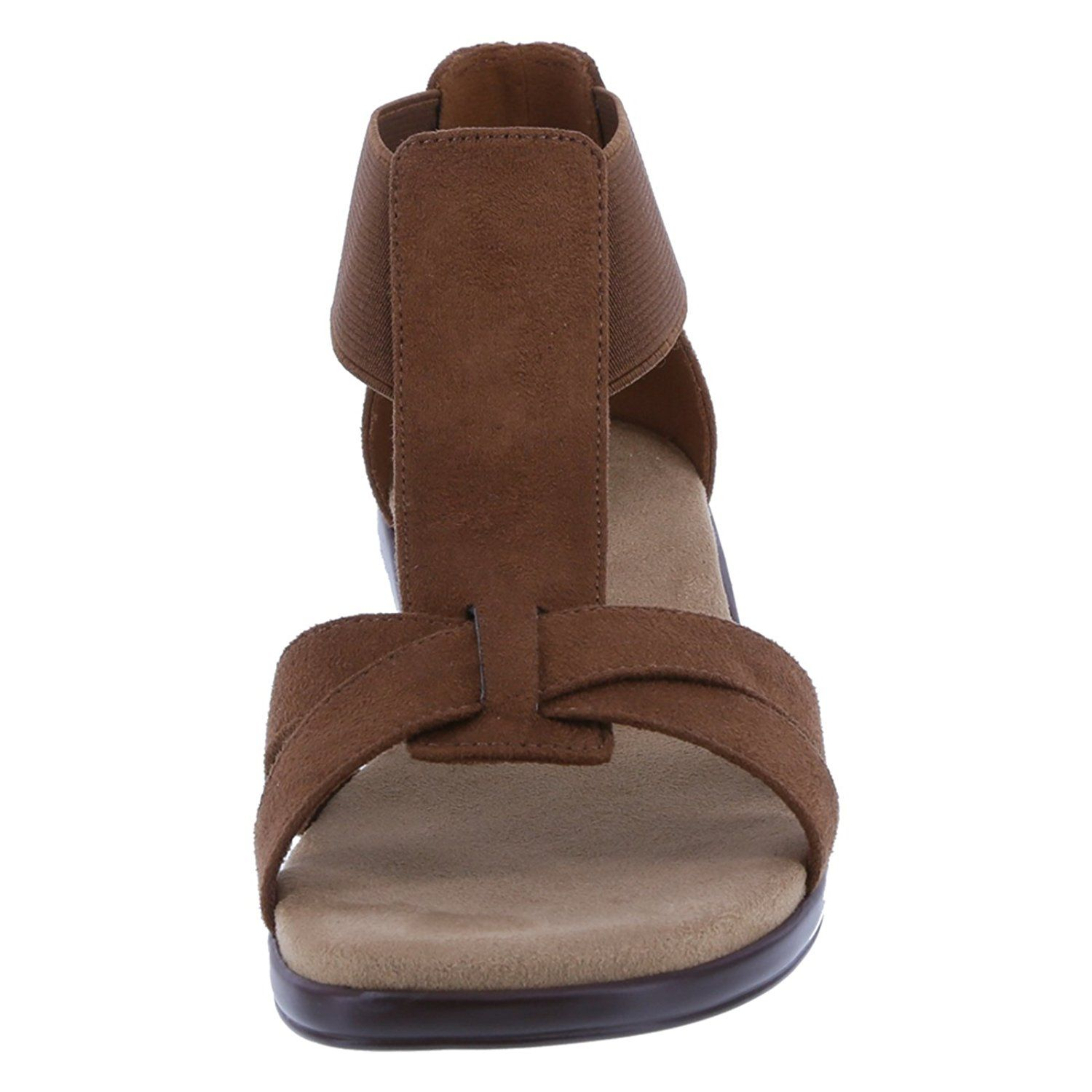 151ac298f5b5 Comfort Plus by Predictions Women s Mack T-Strap Low Wedge Sandal --  Continue to the product at the image link. (This is an affiliate link)   niceshoes
