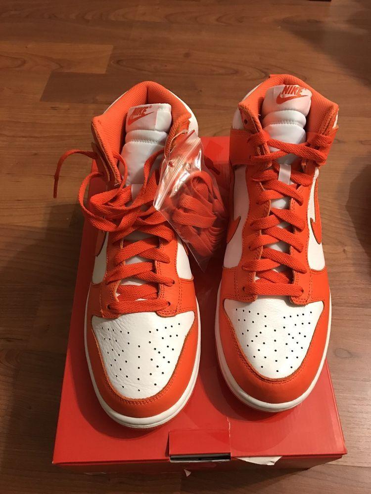 Nike Dunk High Retro QS Syracuse