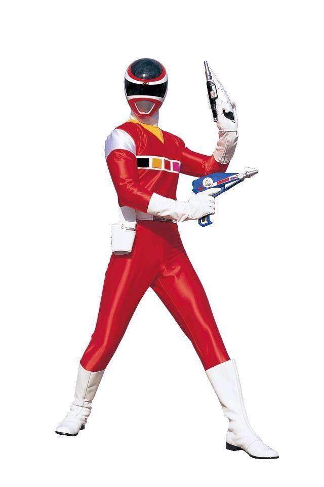 Power Rangers In Space - Red Ranger | super sentai and tokusatsu ...