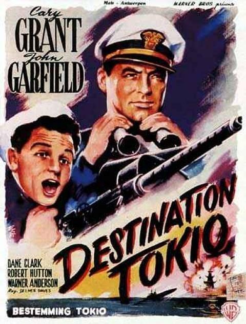Destination Tokyo Film 1944 Cary Grant Movies War Film