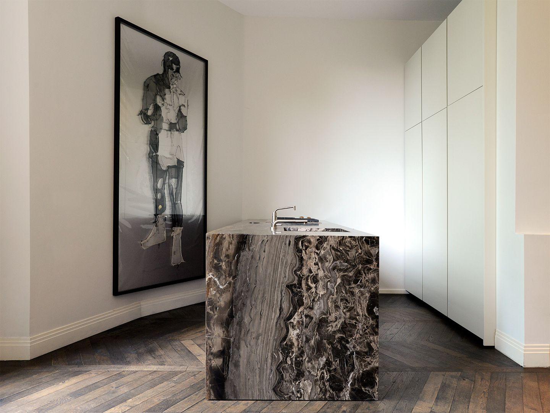 Robert van oosterom minotti cucine kitchen interior design for Interior design cucine