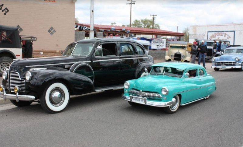 This is a '49 Mercury 'Dwarf' car. Built by hand, it has