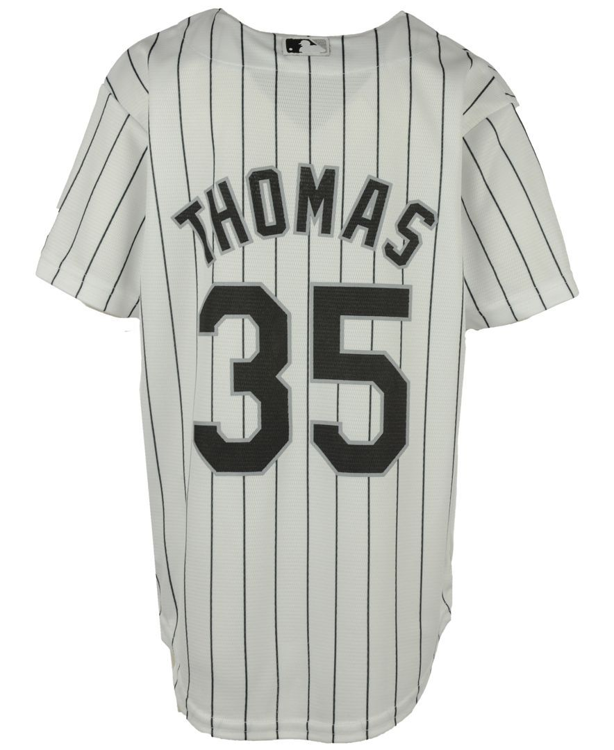 huge discount abc24 0e4ec Majestic Kids' Frank Thomas Chicago White Sox Player Replica ...