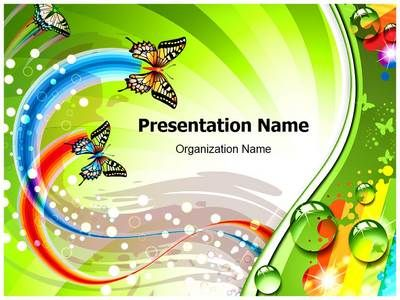 Download Our Professionally Designed Butterfly Abstract Ppt