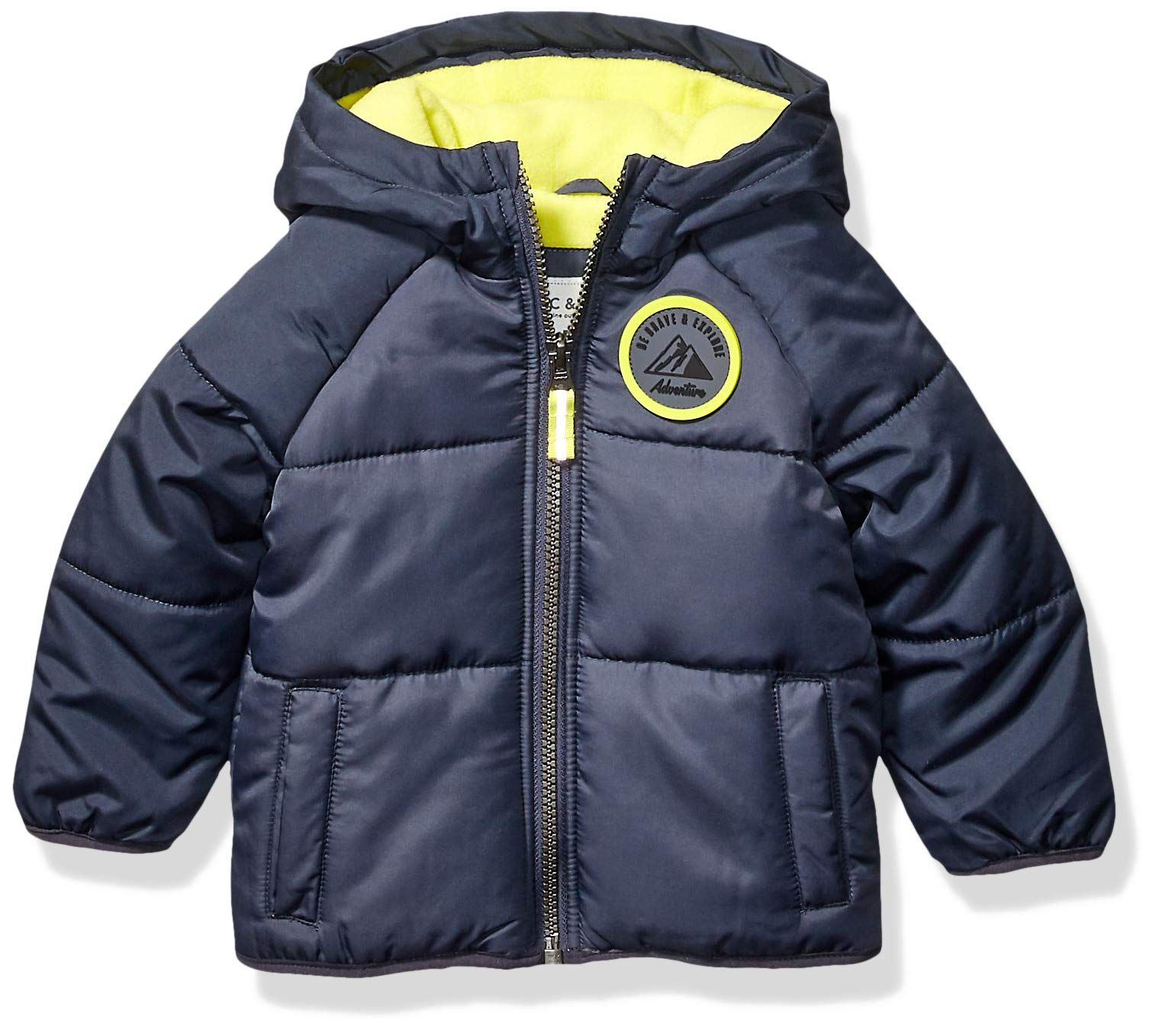 Carter S Baby Boys Adventure Bubble Jacket Armour Gray Azul Radioactive 12 Months Click Picture For More Detai In 2020 With Images Baby Boy Jackets Carters Baby Boys Jackets