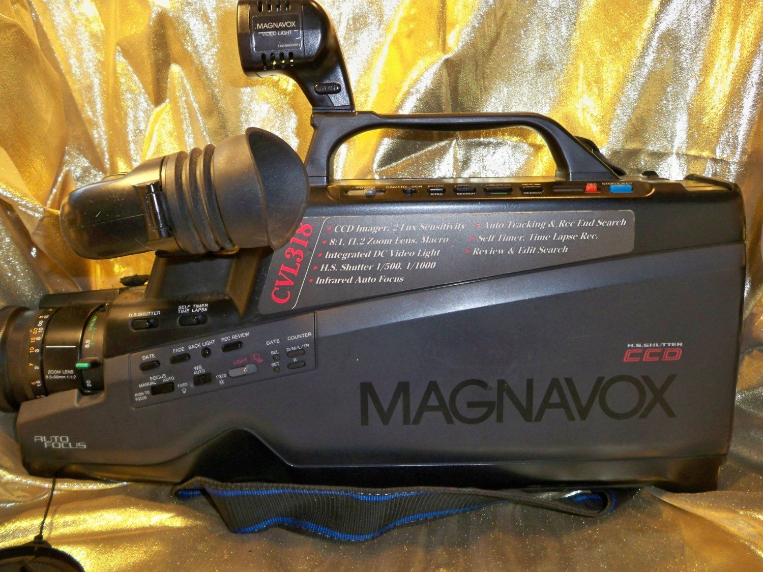 Amazon Com Magnavox Vhs Camcorder Camera Photo This Is How We Recorded Home Movies Camcorder Vhs Home Movies