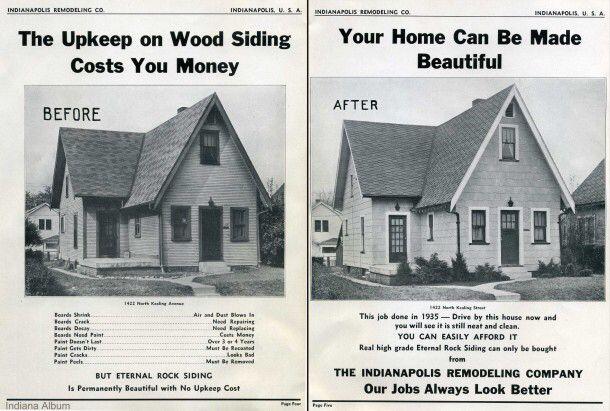 Original Ad For Asbestos Siding Asbestos Siding Wood Siding Siding