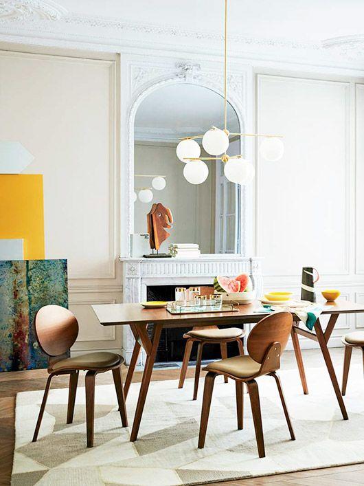 West Elm S New Look Sfgirlbybay Living Room Decor Modern Dining Room Inspiration Mid Century Dining Room