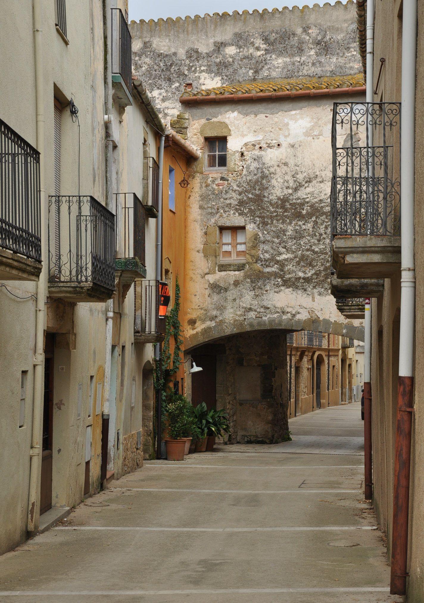 Catalonia Sant Sadurní De L Heura Girona Catalonia Girona Countries Of The World Street Scenes