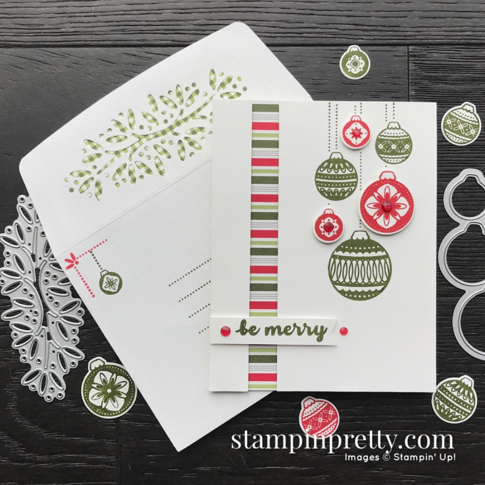 HOLIDAY SNEAK PEEK! Stampin' Up! Ornamental Envelopes