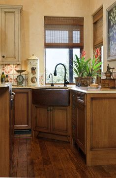 I M Liking The Copper Farmhouse Sink Tuscan Farm House Brasada Ranch Style Via Houzz