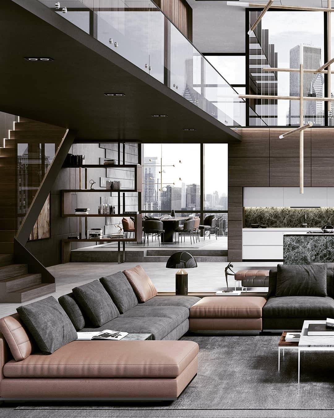 """THE LUXURY INTERIOR On Instagram: """"Stunning Penthouse"""