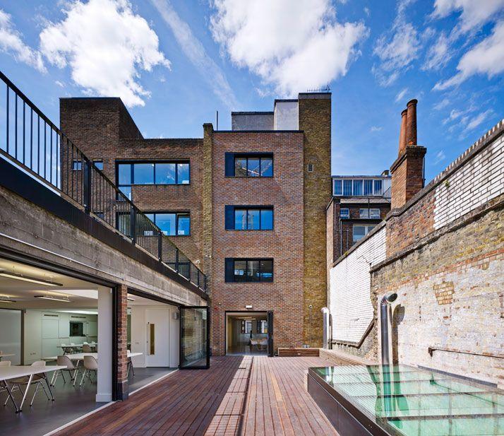 Condé Nast College of Fashion & Design In London / by FCB Studios
