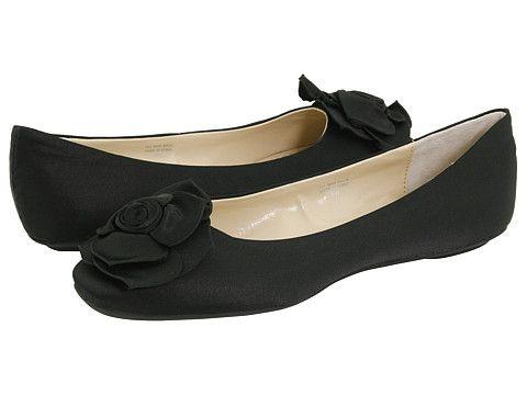 Romantic Soles Geneva Black Satin - Zappos.com Free Shipping BOTH Ways