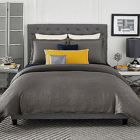 Vince Camuto Berlin Reversible Comforter Set Comforter Sets Comforters Bed