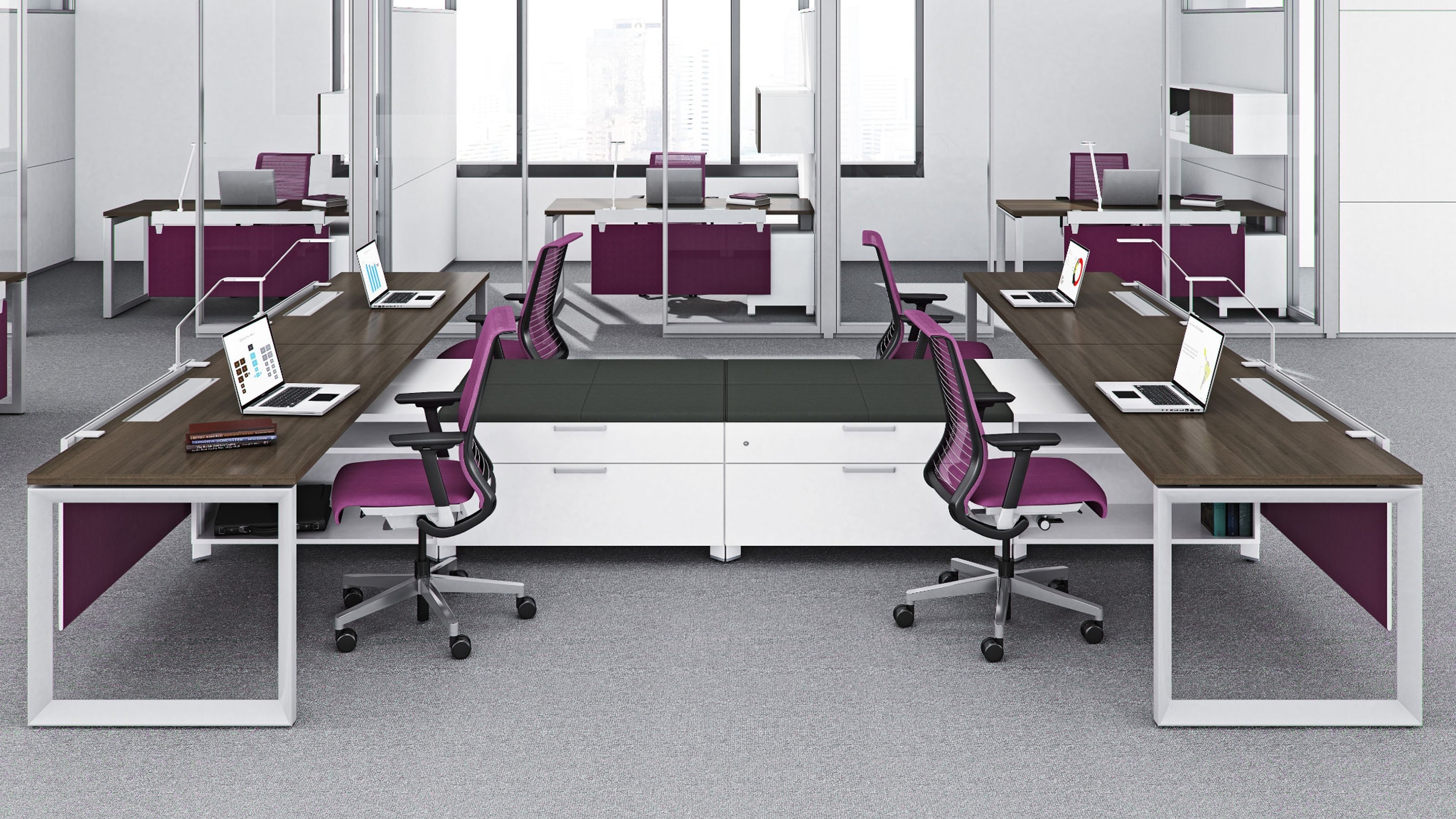 Answer Freestanding Steelcase, Panel systems, Office design