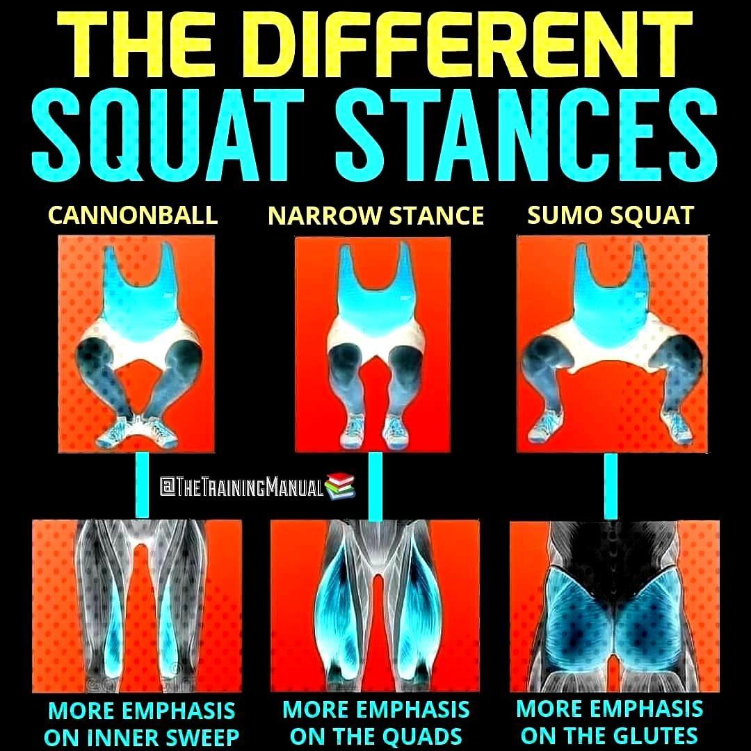 Squats,...