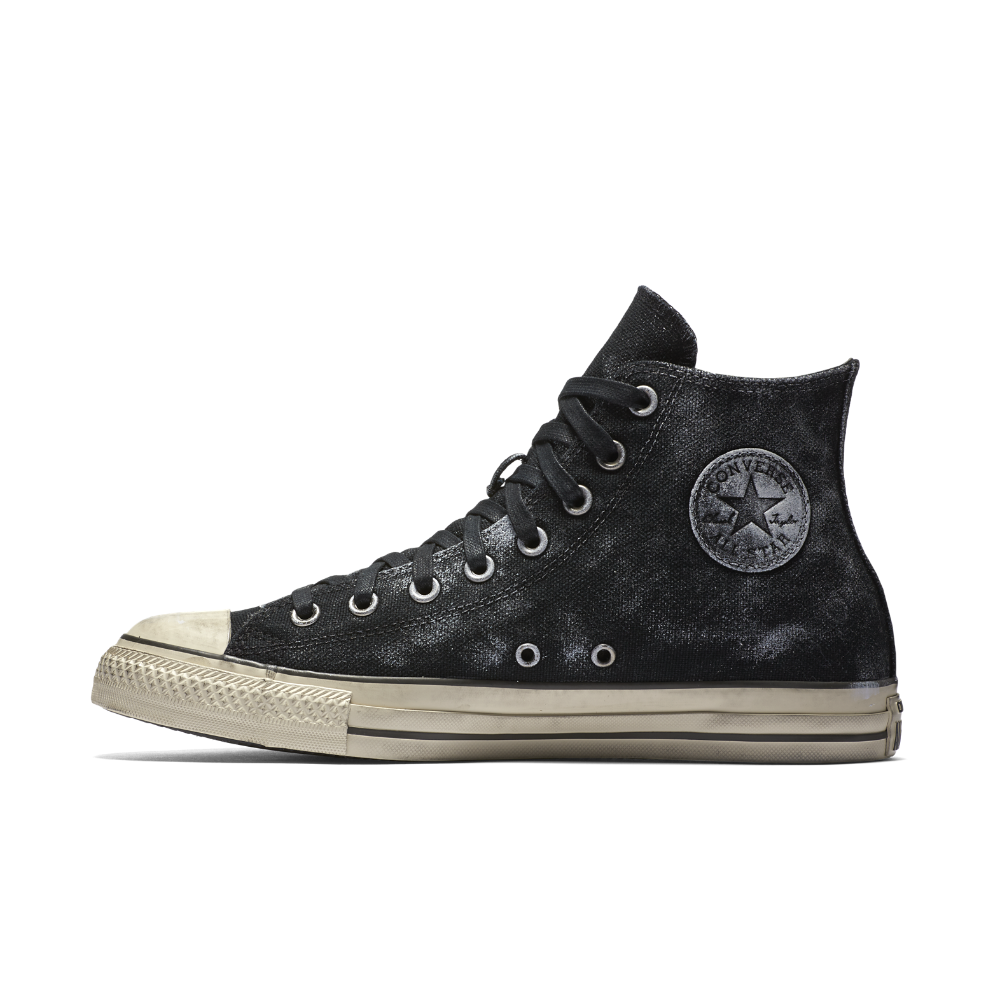 27a0f6edd25e9f Converse x John Varvatos Chuck Taylor All Star Side Zip High Top Shoe Size  7 (Black) - Clearance Sale