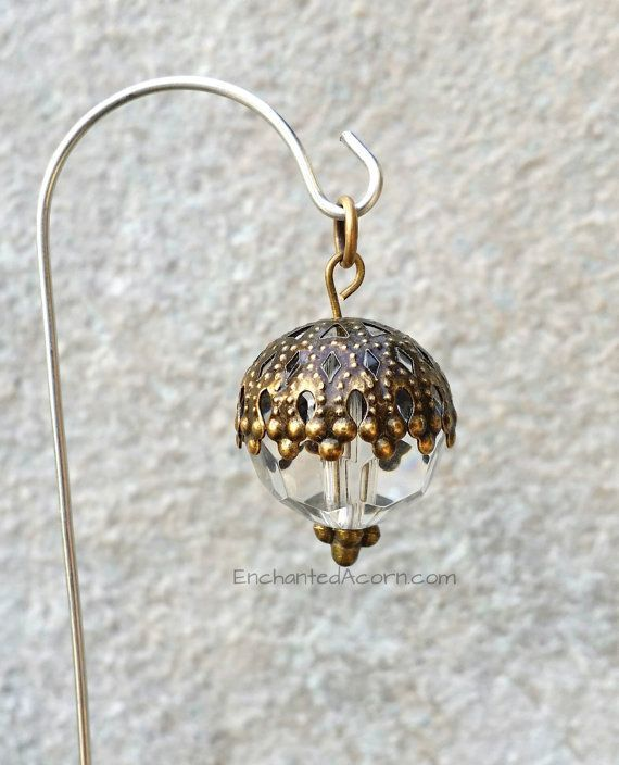 Photo of Garden Fairy Lantern Miniature Zubehör für Fairy Gardens oder Terrarien #fair …