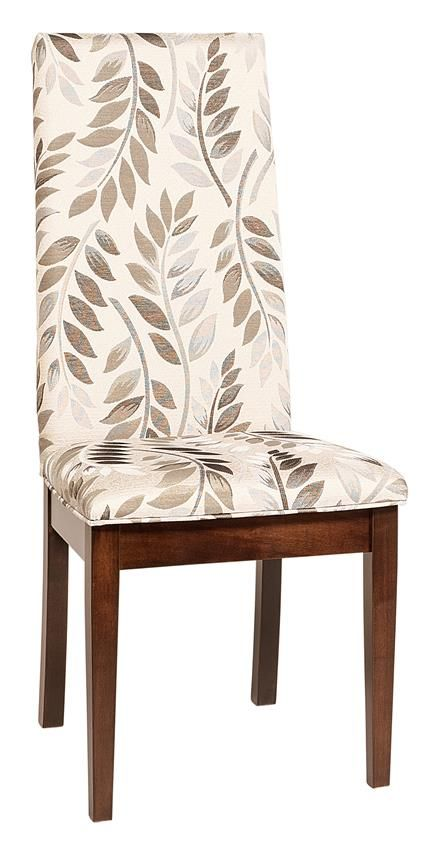 parsons dining chairs upholstered. Amish Bradbury Upholstered Parsons Dining Chair Chairs