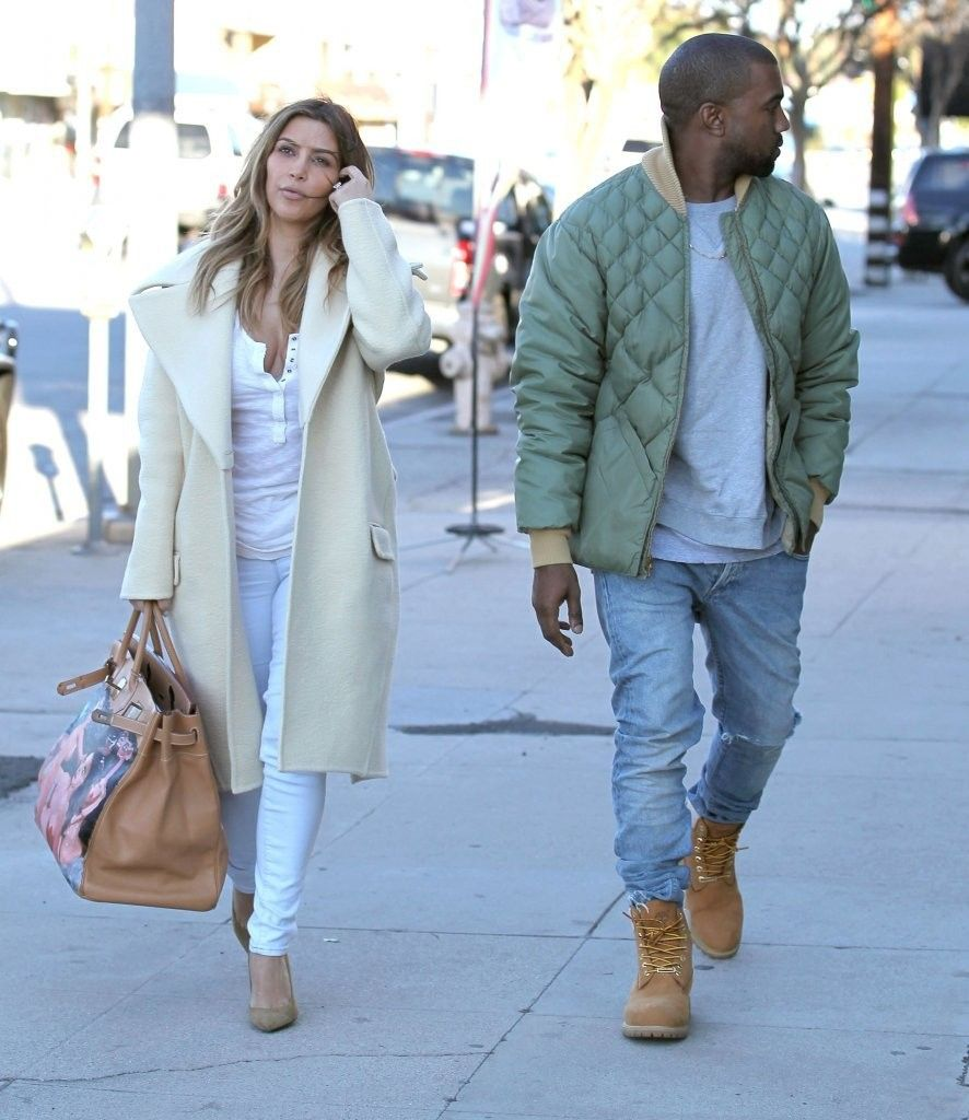 Kanye West Photos Photos Kim And Kanye Shop At A Sporting Goods Store Kanye West And Kim Kim Kardashian Kanye West Kim And Kanye