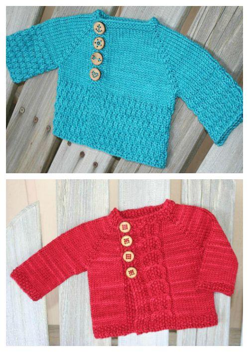 Free Baby Knitting Patterns | Free baby knitting patterns, Knitting ...