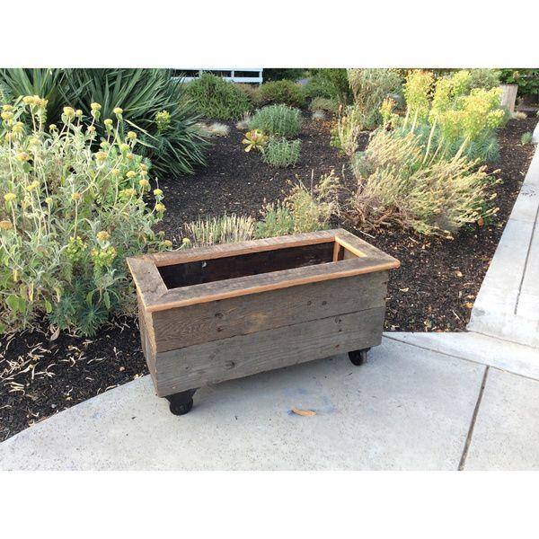 Diy Rolling Planter Box 150 Overstock Com Planter 400 x 300