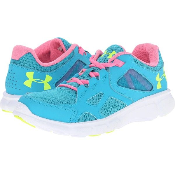 Womens Shoes Under Armour UA Thrill Pacific/Fluo Pink/High-Vis Yellow