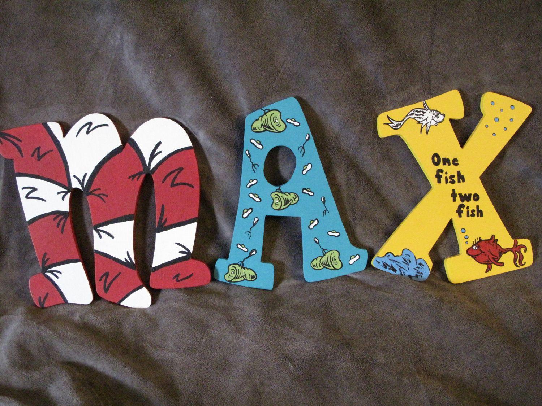 Dr Seuss name letters