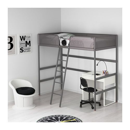 Best Tuffing Loft Bed Frame Dark Gray Twin Loft Bed Frame Ikea Bed Ikea Bunk Bed 400 x 300