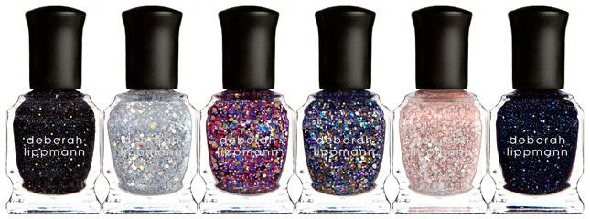 Deborah Lippmann Starlight Collection Holiday 2013 Glitter Nails