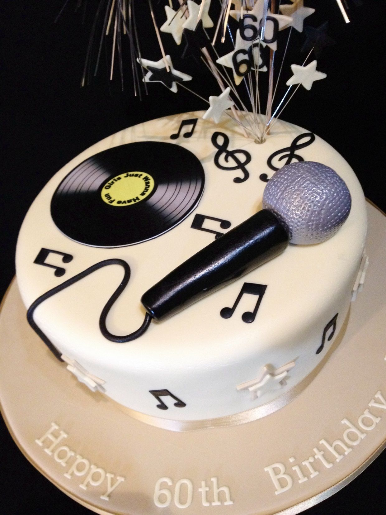 Enjoyable Karaoke Cake Music Birthday Cakes Music Themed Cakes Funny Birthday Cards Online Aeocydamsfinfo