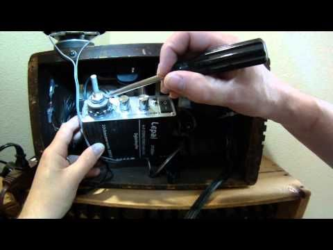 How To Convert An Antique Radio To Bluetooth Antique Radio Bluetooth Speakers Diy Vintage Radio