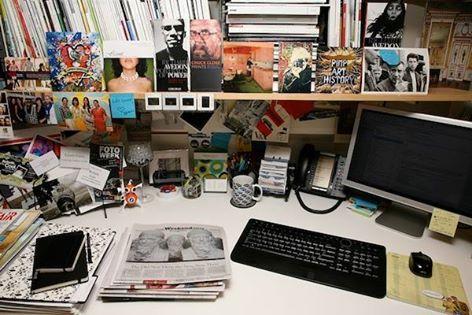 Desk addiction