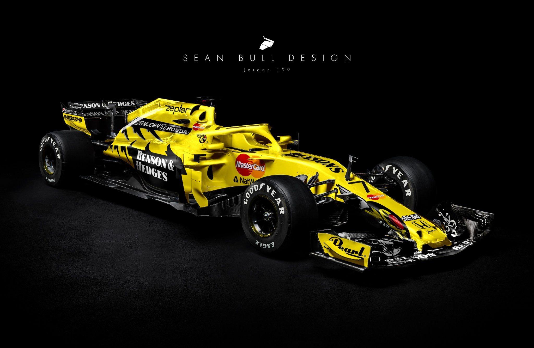Jordan 199 Sean Bull Design Carreras De Autos Autos Deportivos Autos