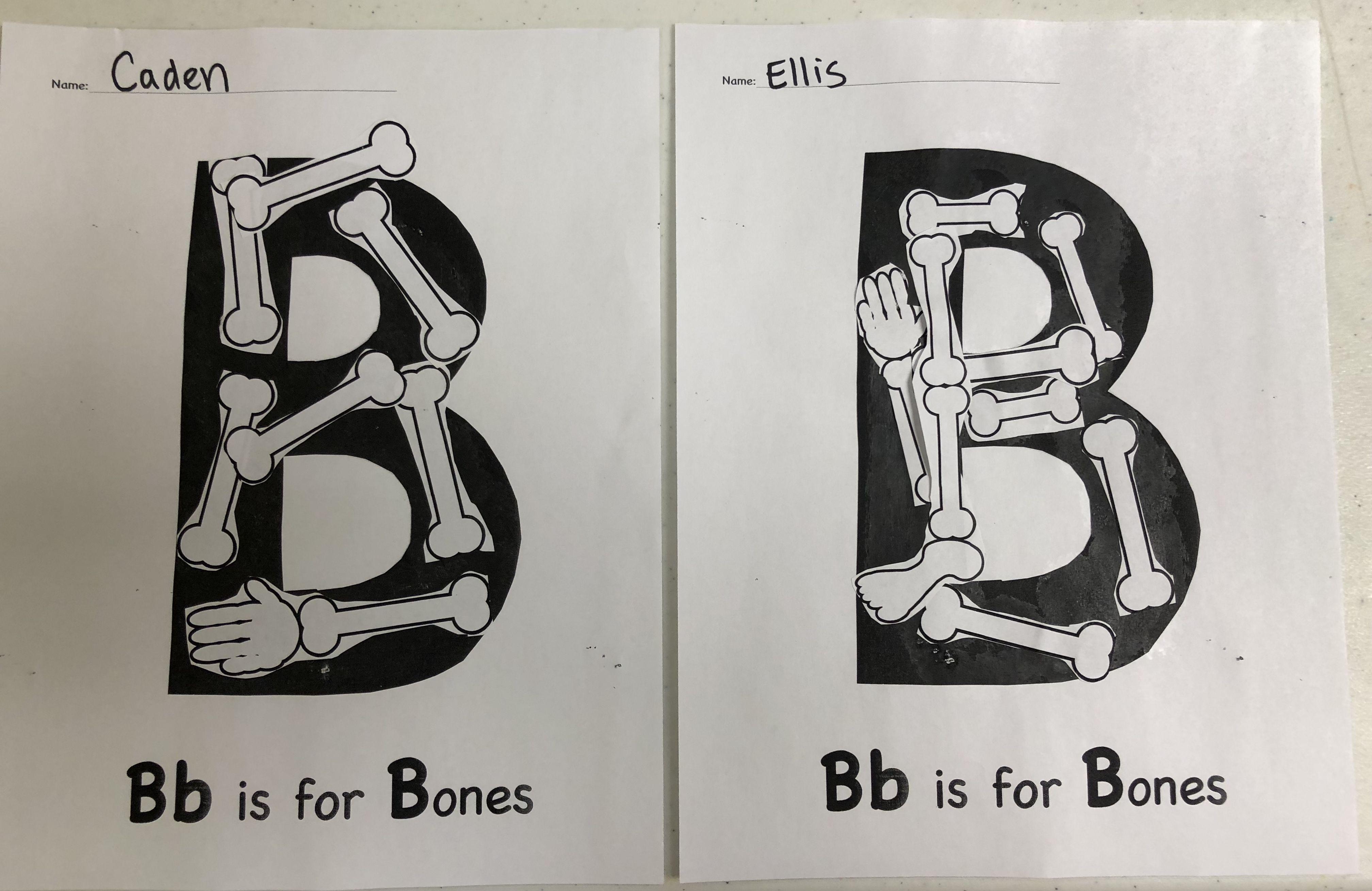 Letter B Alphabet Art Preschool Alphabet B Is For B Is
