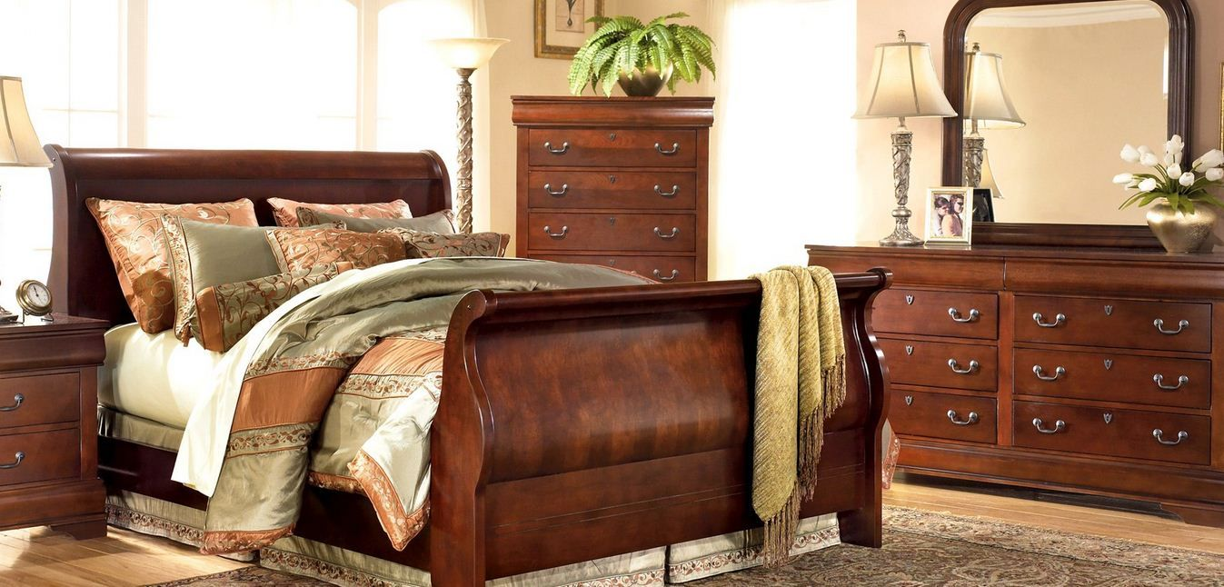 Elegant king size bed