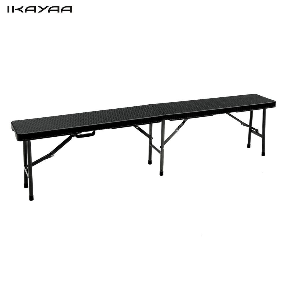 ikayaa 6ft długi portable folding camping piknik bench