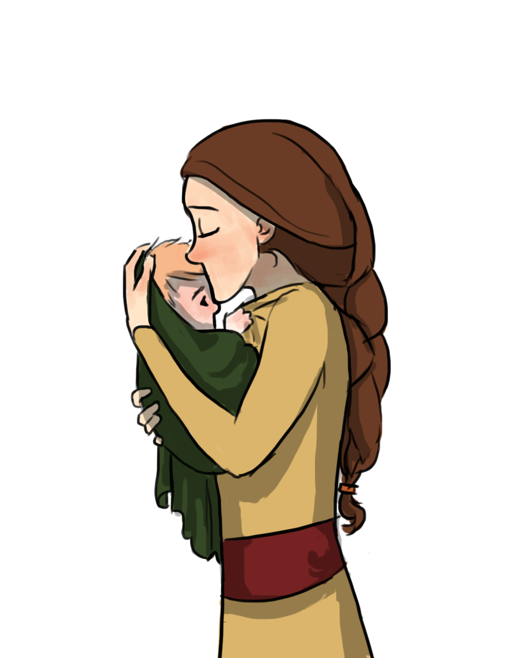 Valka and baby Hiccup ^.^ <3