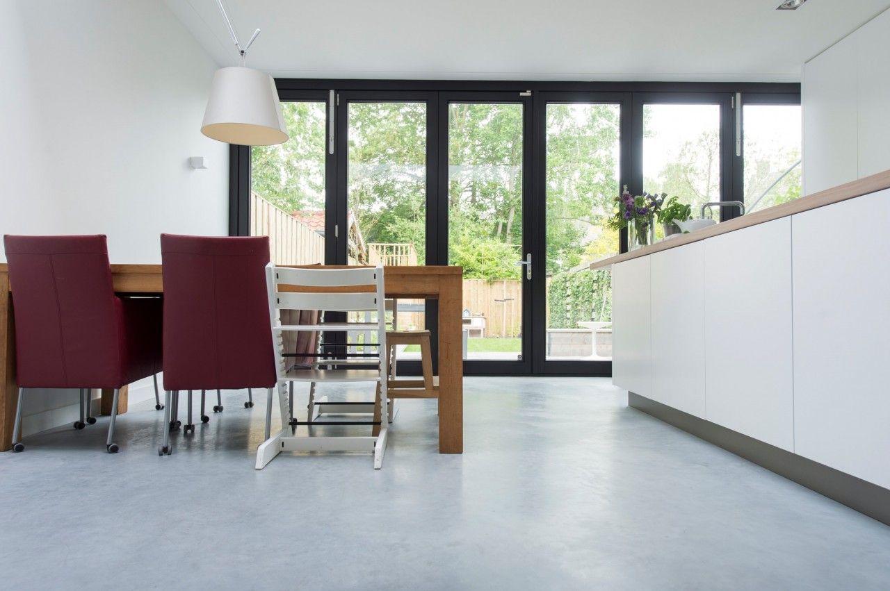 woonbeton beton vloeren de ronde vloeren pinterest