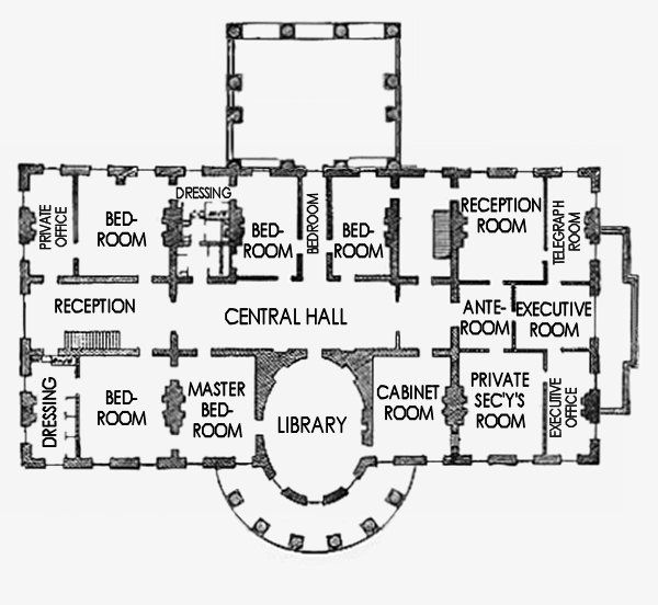 Victorian Ornamentation White House Museum Mansion Floor Plan Building Plans House House Floor Plans